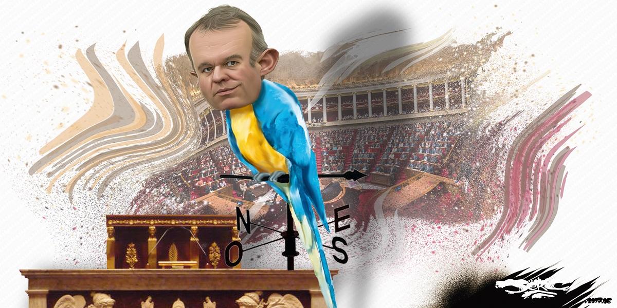 François de Rugy à l'Assemblée nationale : le perroquet sur son perchoir !