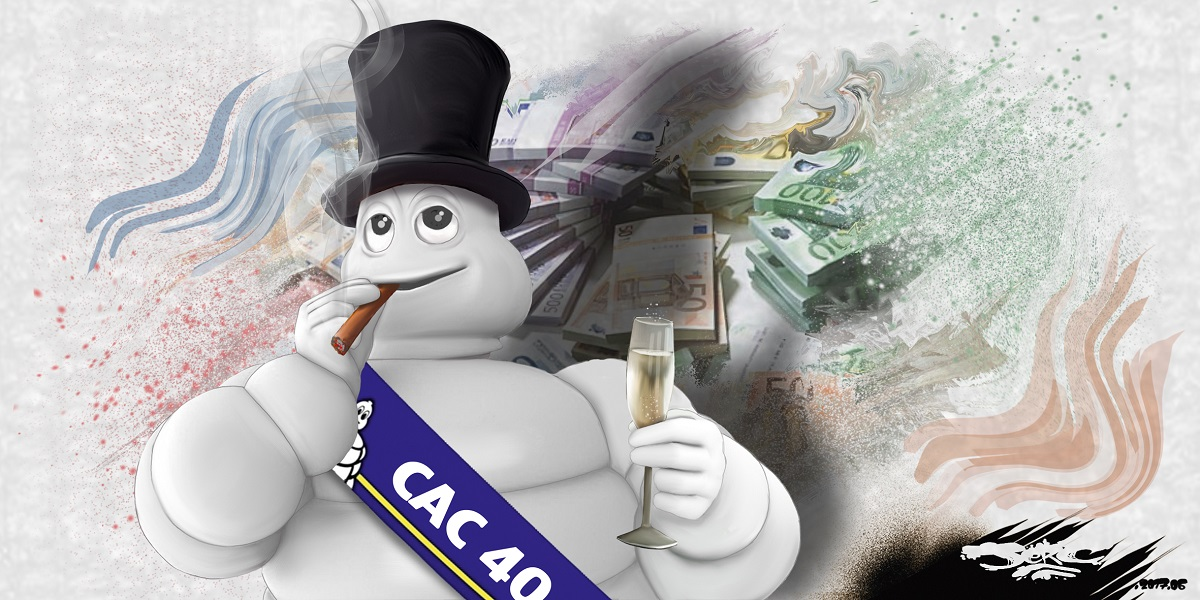 Le bonhomme Michelin aux ordres du CAC 40