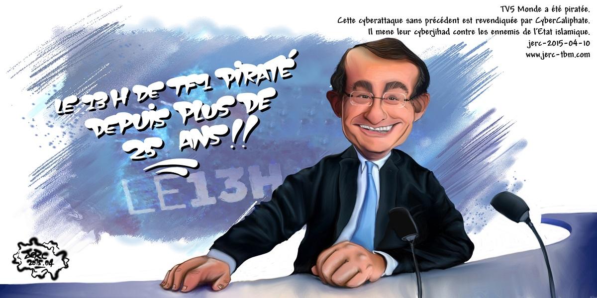 Jean-Pierre Pernault pirate le 13 heures de TF1 depuis plus de 25 ans