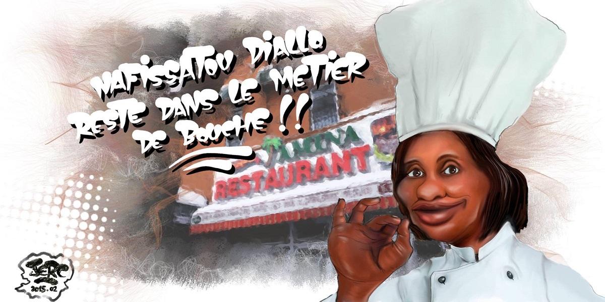 Nafissatou Diallo et son nouveau restaurant