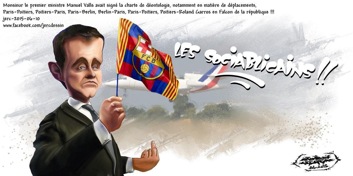 Manuel Valls, champion du déplacement aux frais des contribuables