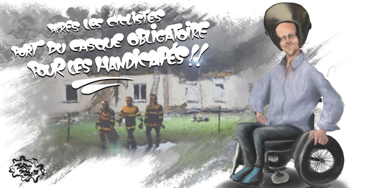Les handicapés devront désormais porter un casque