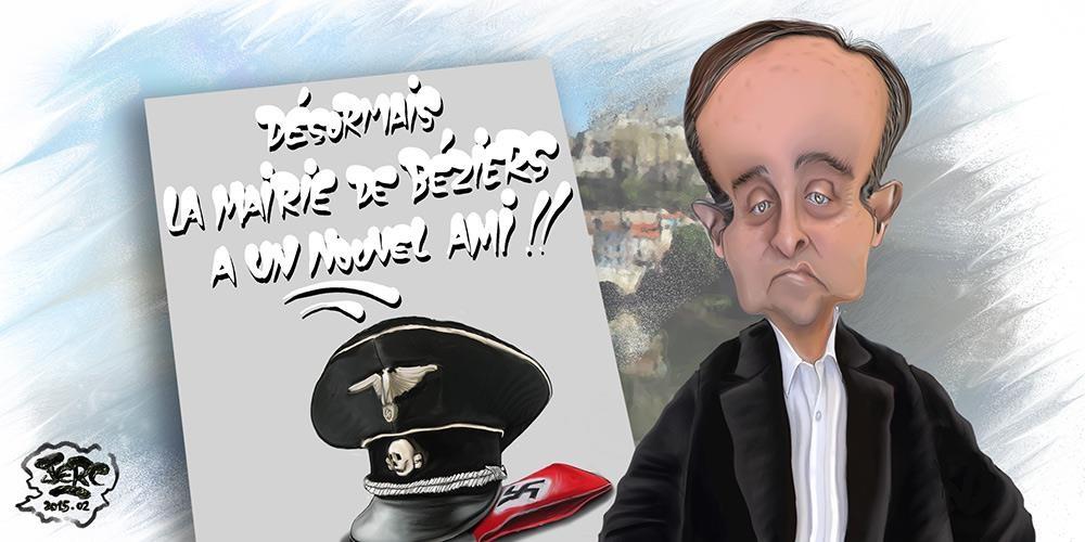 Robert Ménard arme la police de Béziers et l'affiche
