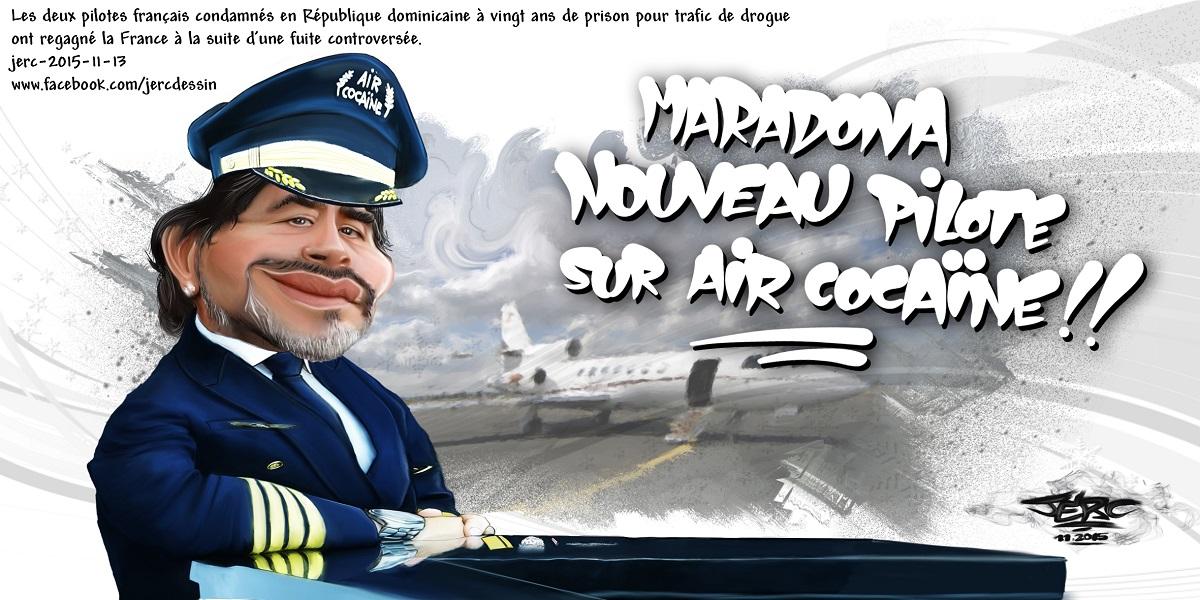 Maradona et l'affaire Air Cocaïne : un nouveau pilote aux commandes ?