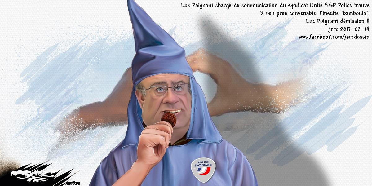 Luc Poignant, le représentant du Ku Klux Klan de la Police Française