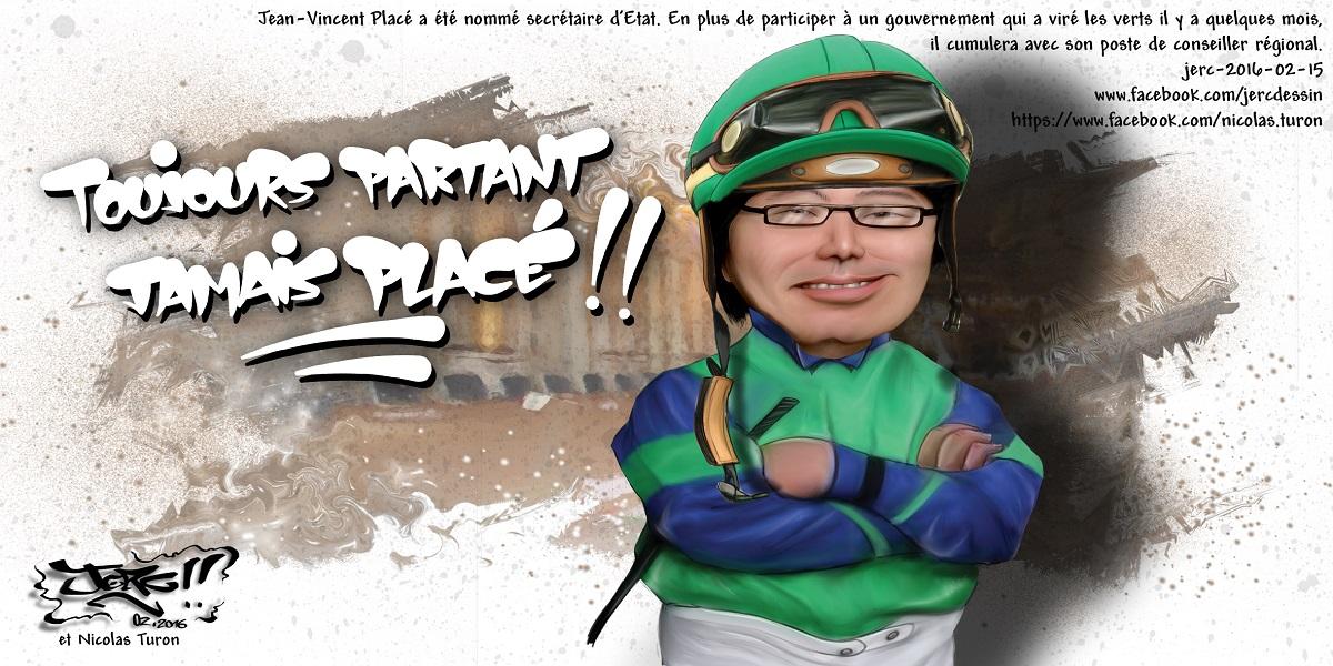 Jean-Vincent Placé aurait pu être jockey...