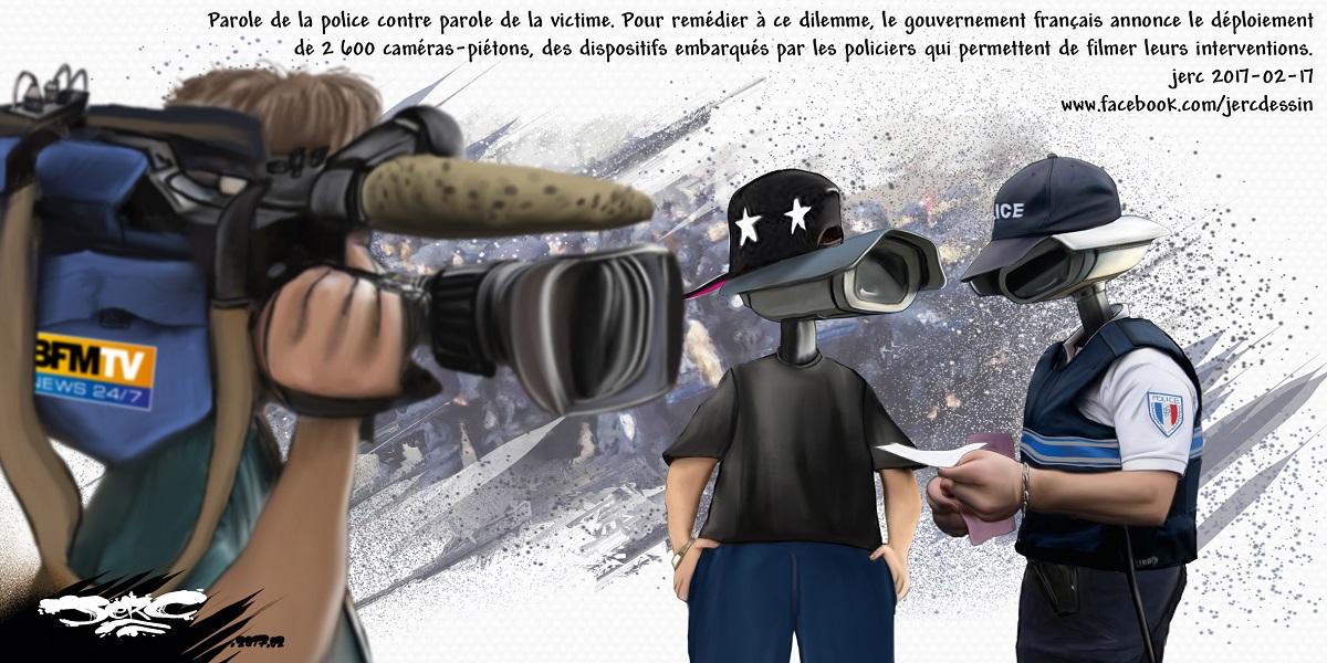 Les policiers français vont devoir se transformer en caméras humaines, sponsorisés par BFMTV