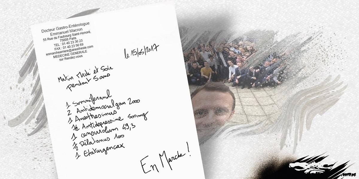 Emmanuel macron va gouverner par ordonnance... médicale !