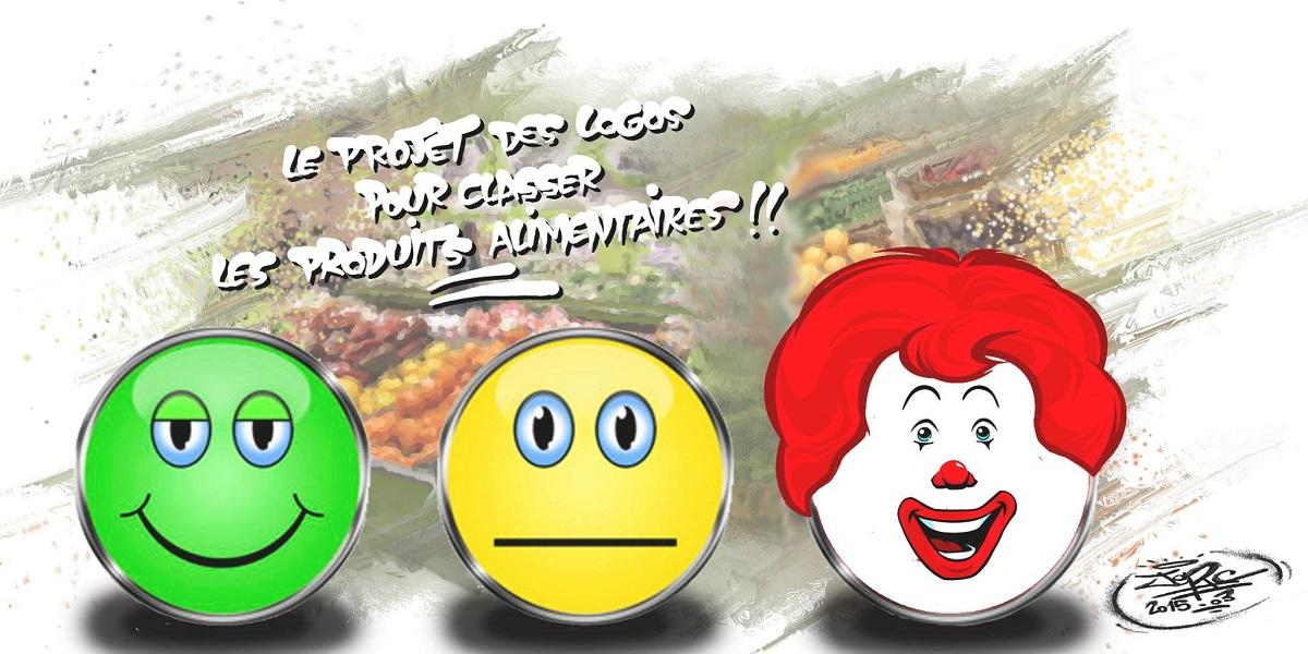 Les nouveau logos de classement des produits alimentaires