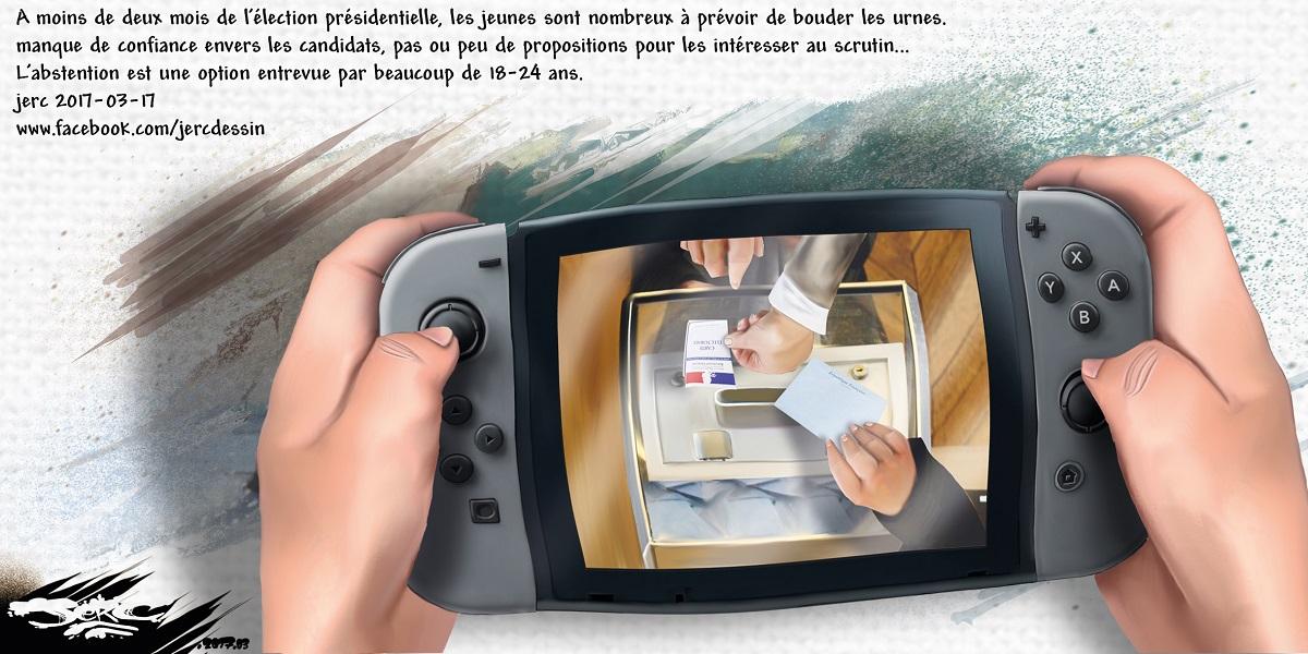 La nouvelle Nintendo Switch, le moteur des jeunes pour les élections