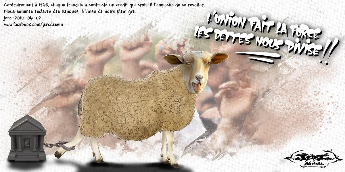 Les français sont des moutons attachés aux emprunts bancaires