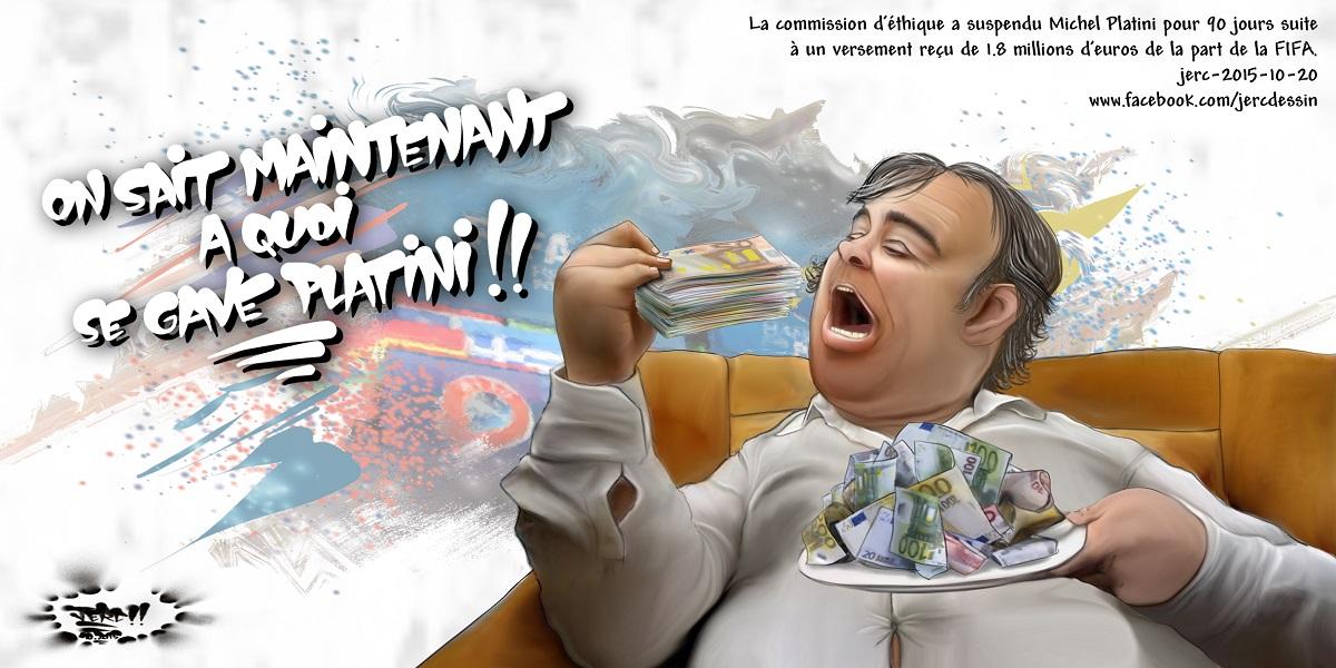 Michel Platini se gave de votre fric !
