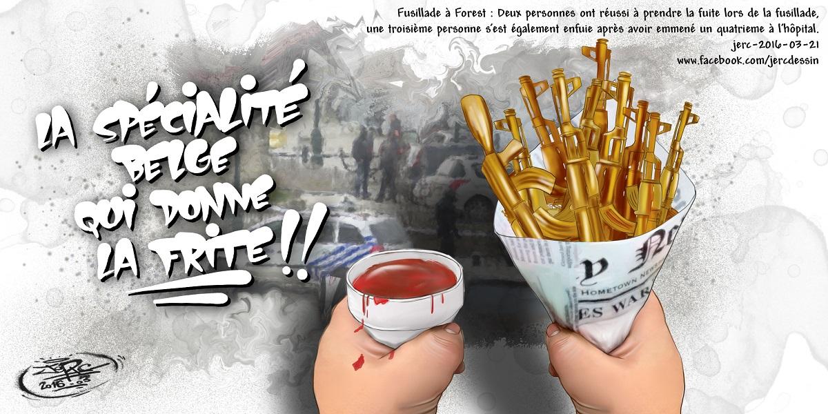 Les fusillades, la nouvelle spécialité Belge qui va remplacer les frites