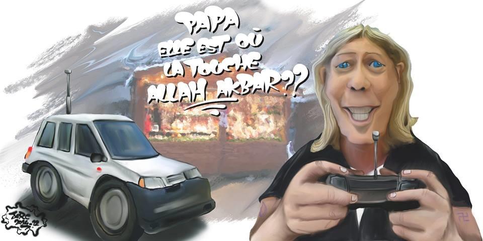 23 décembre 2014 - La touche Allah Akbar