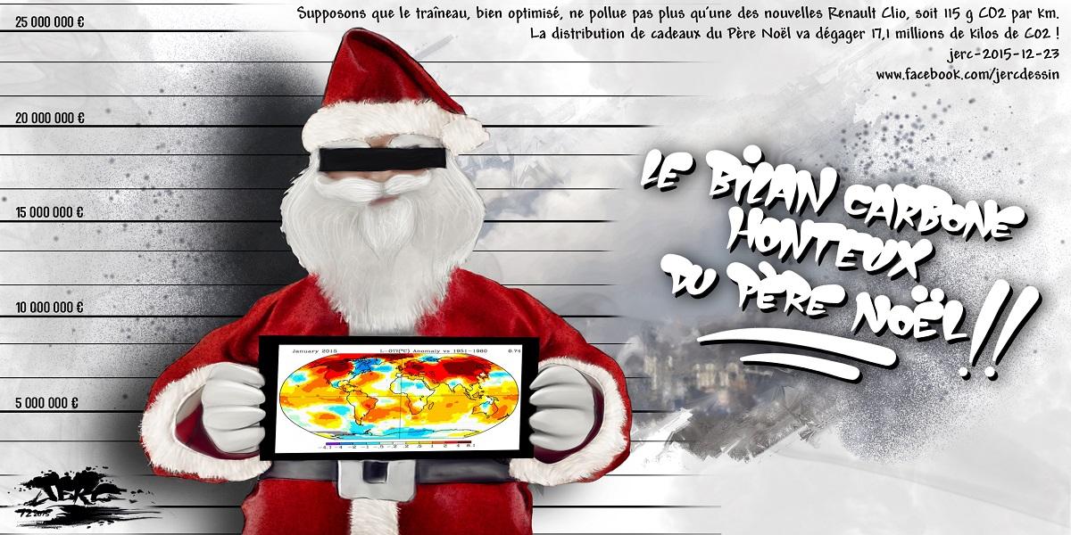 Le Père Noël, le plus grand polleur du monde