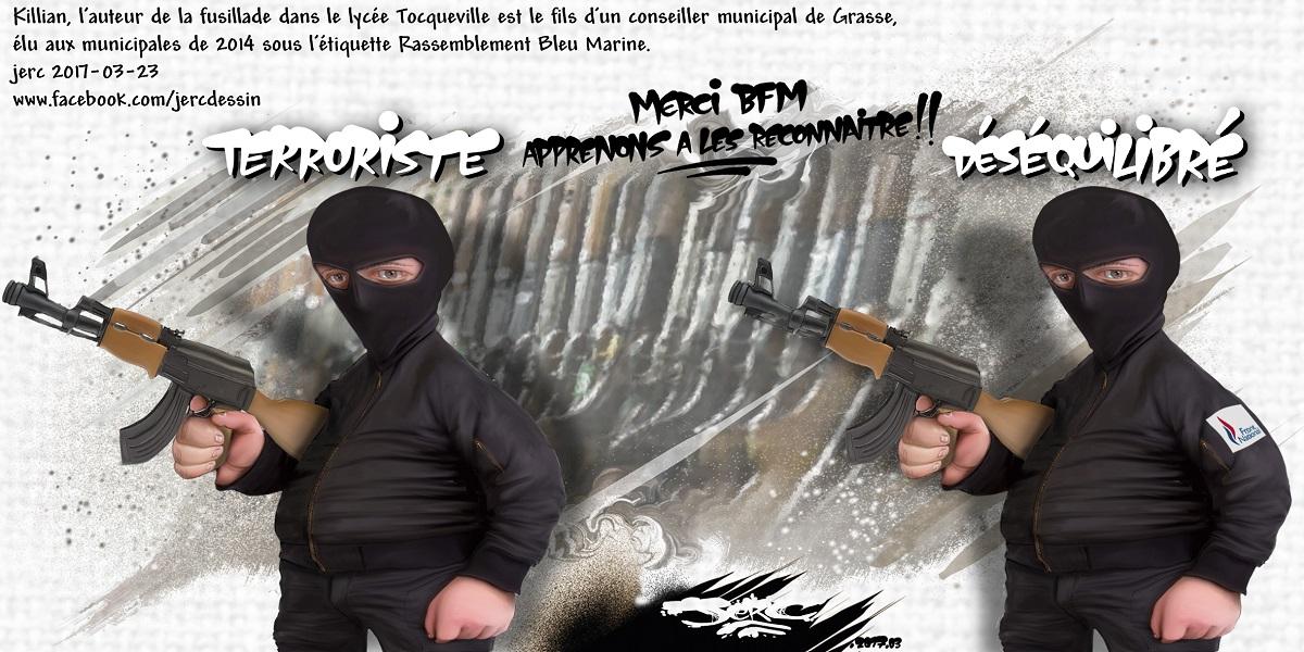 Grâce à BFMTV, nous pouvons enfin distinguer un terroriste d'un déséquilibré