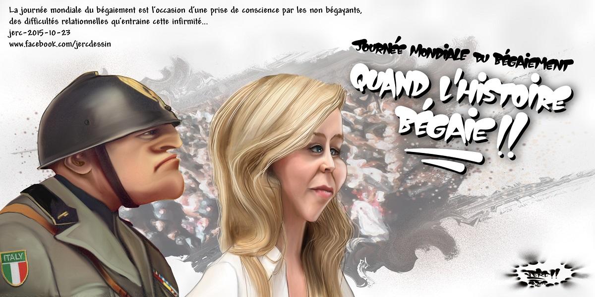 Marion Maréchal-Le Pen, quand l'histoire se met à bégayer