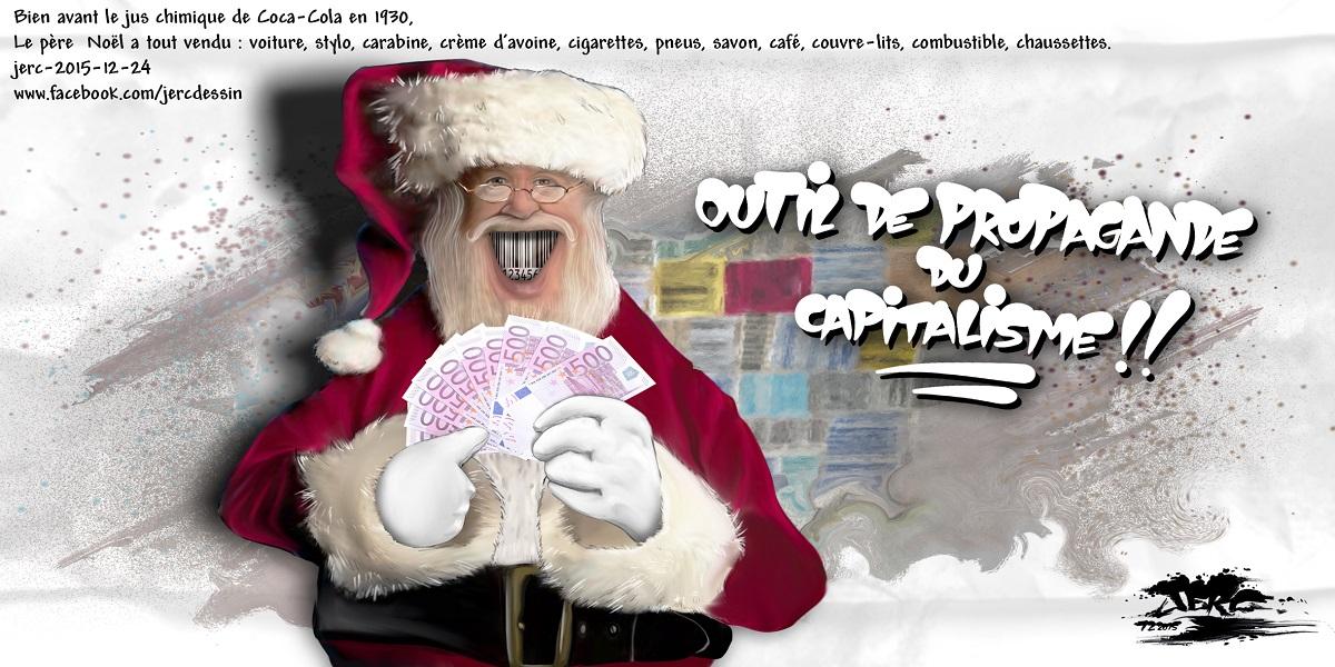 Le Père Noël, le plus grand représentant de commerce du monde