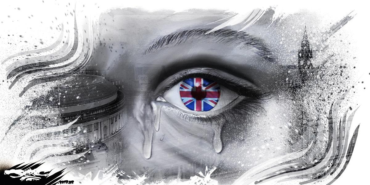 Encore un attentat en Angleterre, le drapeau anglais pleure