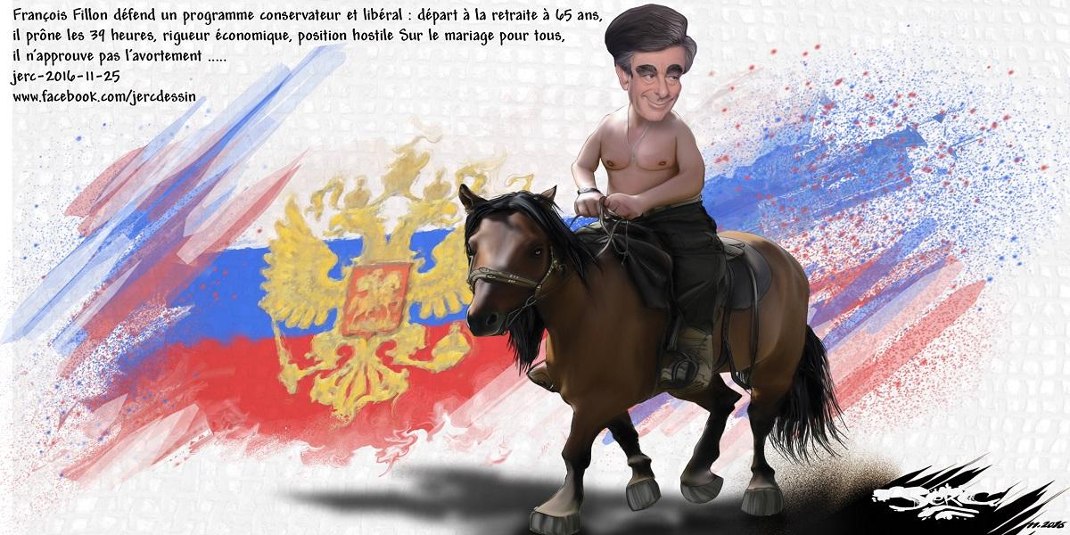 François Fillon, le Vladimir Poutine français !