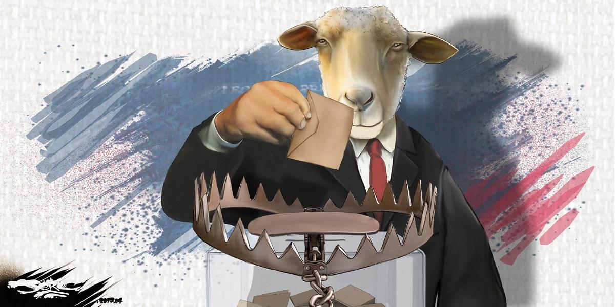 Les français vont aller voter... comme des moutons à l'abattoir