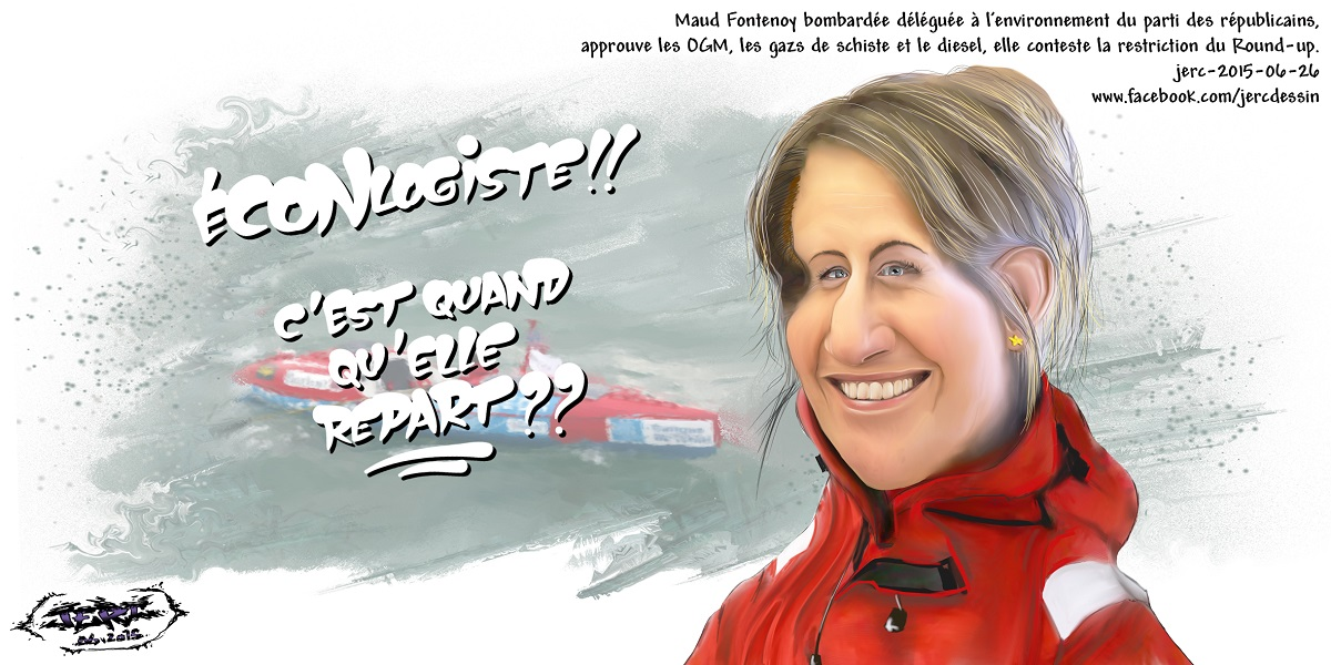 Maud Fontenoy se lance dans la politique... Elle n'aurait pas dû...