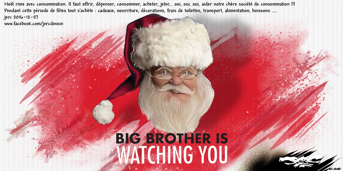 Le Père Noël oui, mais surtout pour la consommation