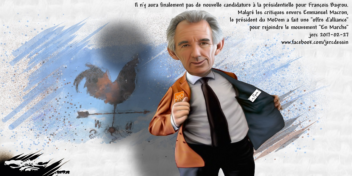 Ultime retournement de veste pour François Bayrou... qui se met en marche !