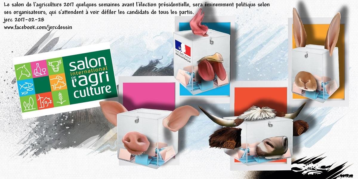 Le salon de l'agriculture : la foire aux animaux politiques
