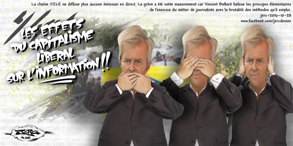 Vincent Bolloré, l'information à sa façon !