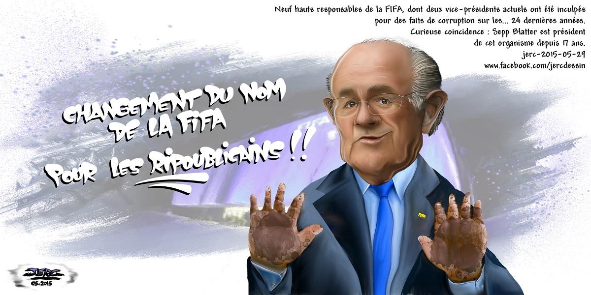 Sepp Blatter, aux innocents les mains pleines