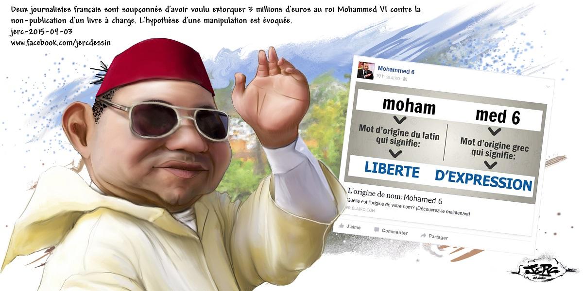 Mohammed VI victime d'une tentative d'escroquerie