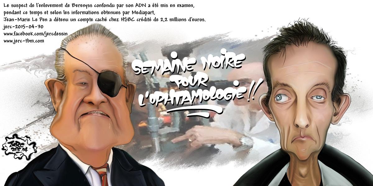 Et si Jean-Marie Le Pen payait la rançon de Bérényss ?