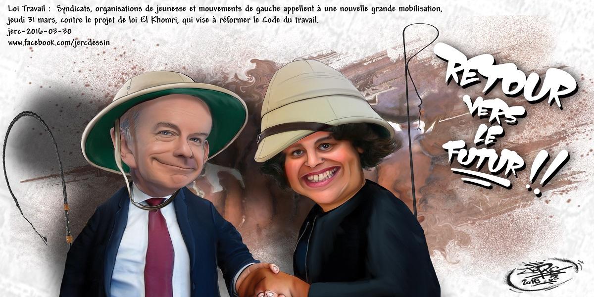 Myriam El Khomri et Pierre Gattaz veulent nous faire revenir au temps béni de l'esclavage !