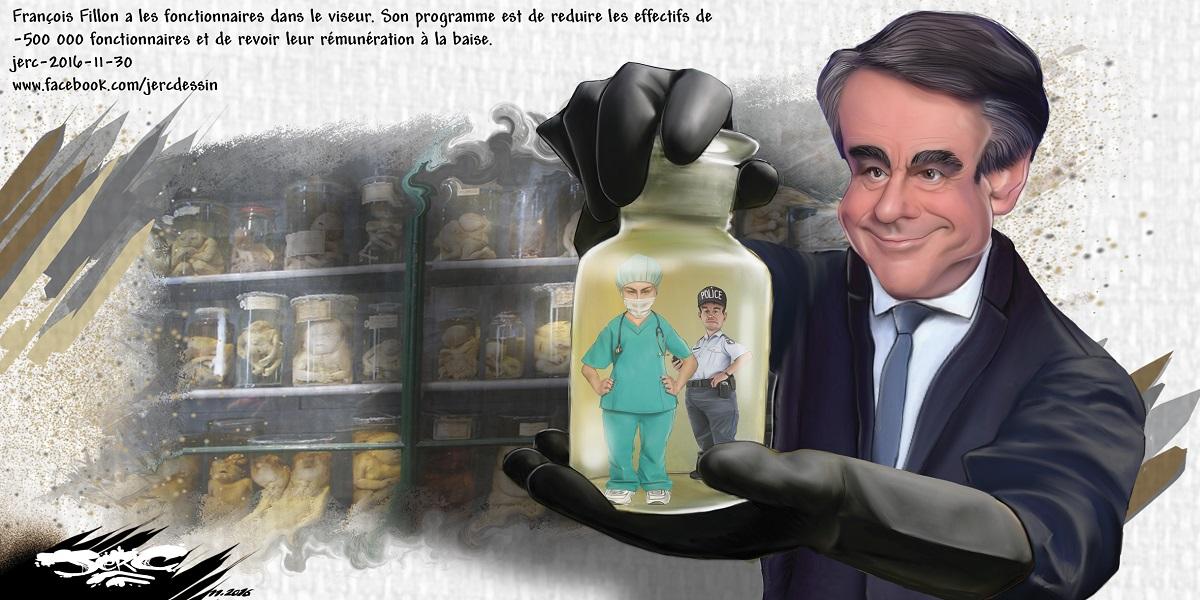 François Fillon veut la fin des services publics