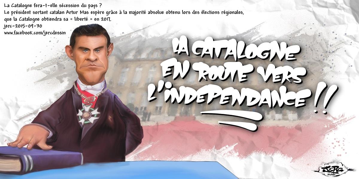 Manuel Valls est en route pour l'indépendance !