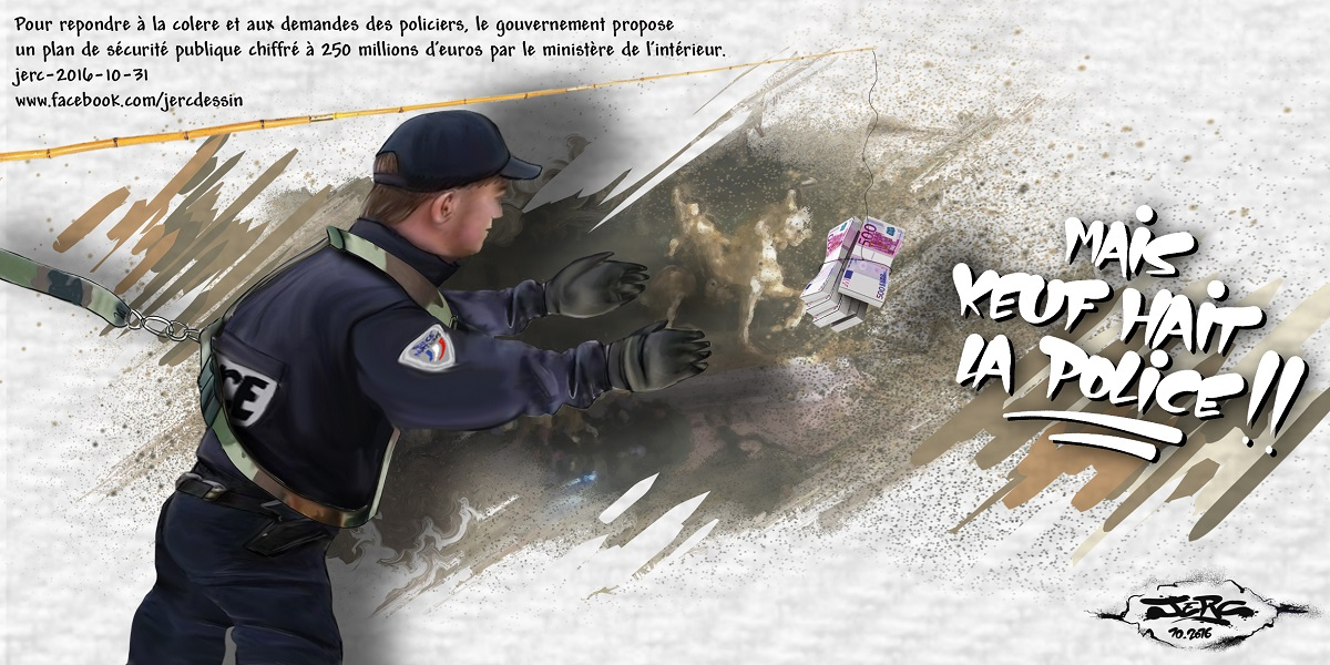250 millions d'euros pour un nouveau plan de sécurité publique, la police a de l'argent !