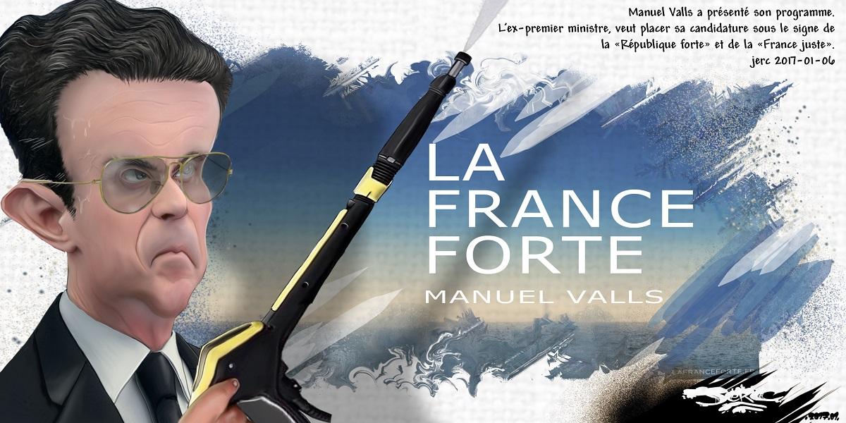 Manuel Valls veut une France forte... Le retour du Kärcher ?