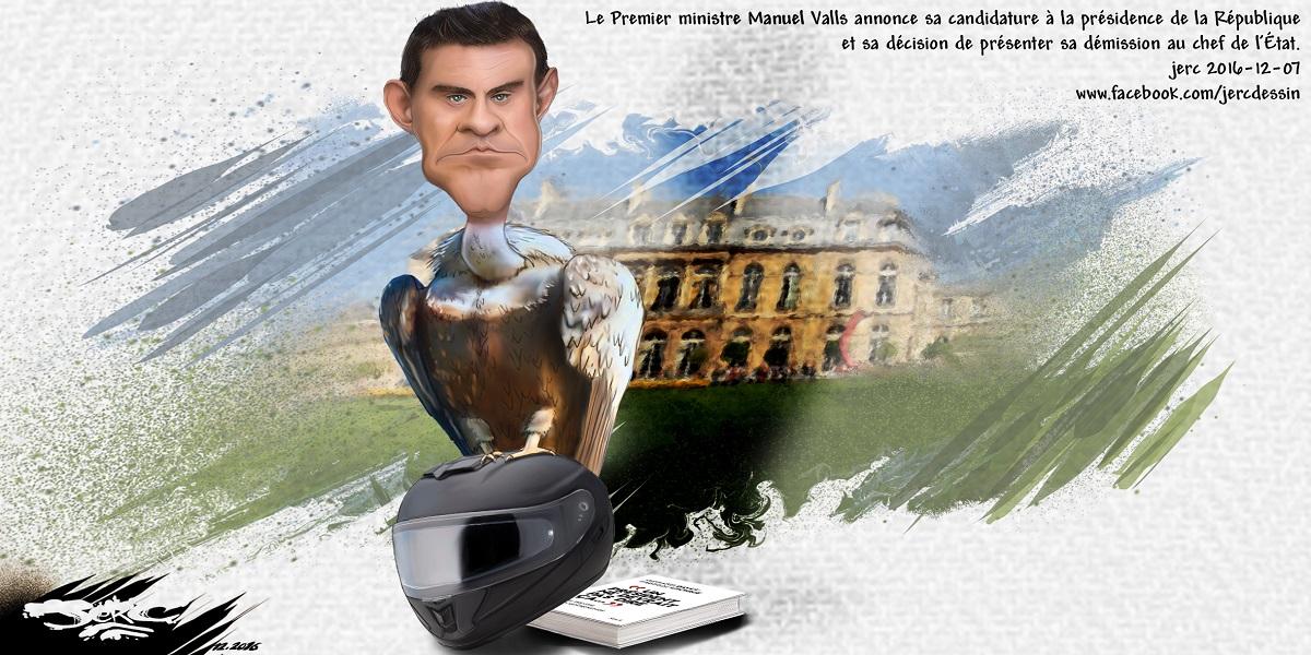 Manuel Valls, le nouveau vautour de la politique française