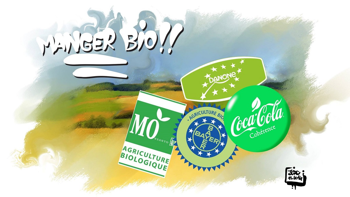 Le bio récupéré par l'industrie agro-alimentaire