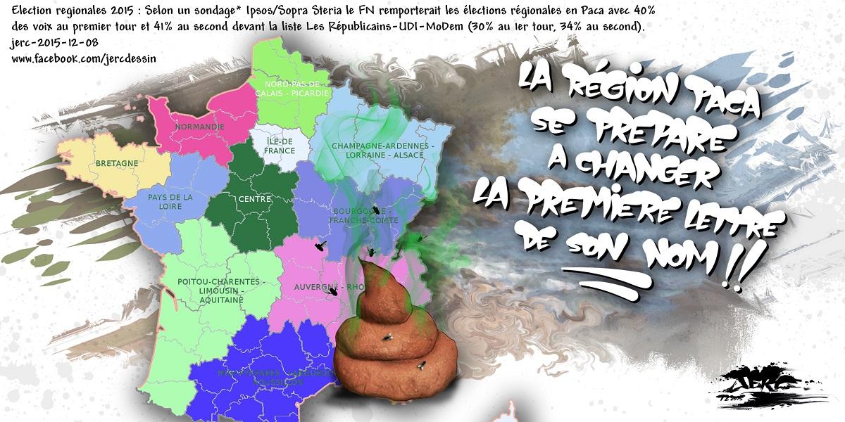 Après les élections, la région PACA risque de devenir la région CACA