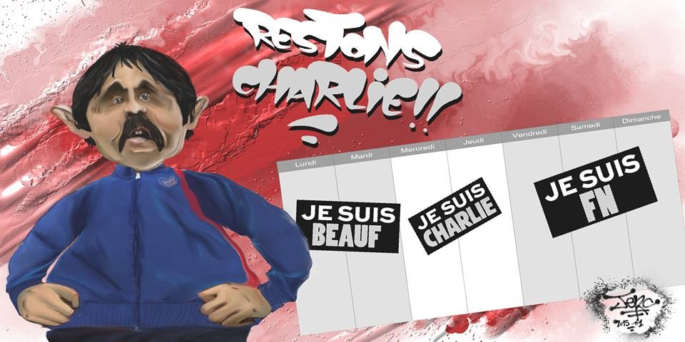 Restons Charlie, contre les beaufs et les FN