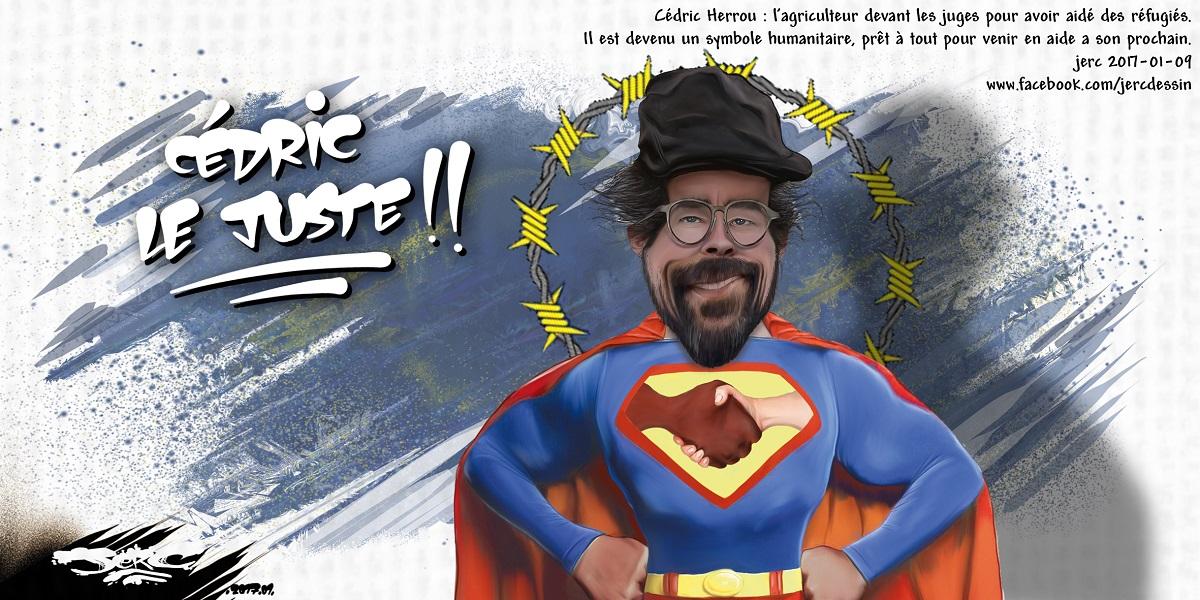 Cédric Herrou, le superman des réfugiés