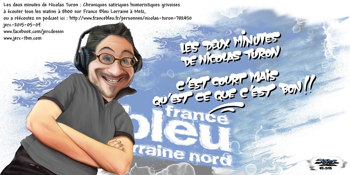Nicolas Turon sur France Bleu, c'est court mais c'est bon