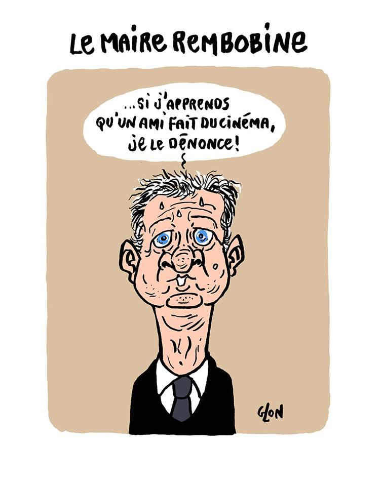 dessin de Bruno Le Maire en train de faire marche arrière sur ses déclarations
