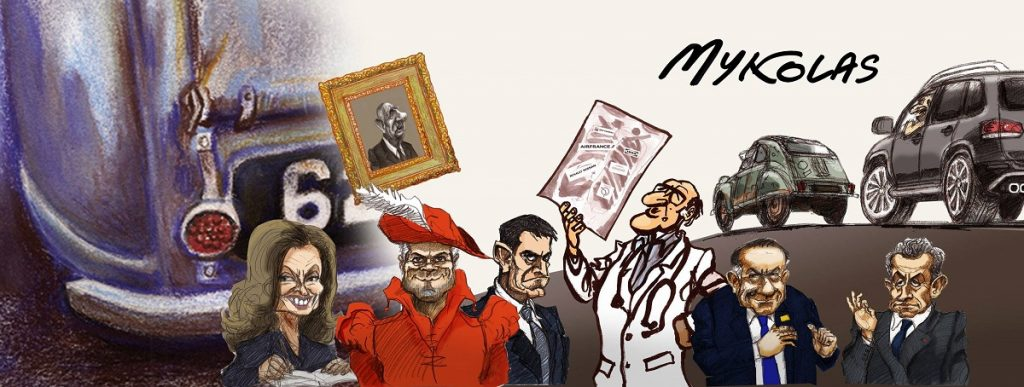 Les dessins de presse et d'actualité de Mykolas