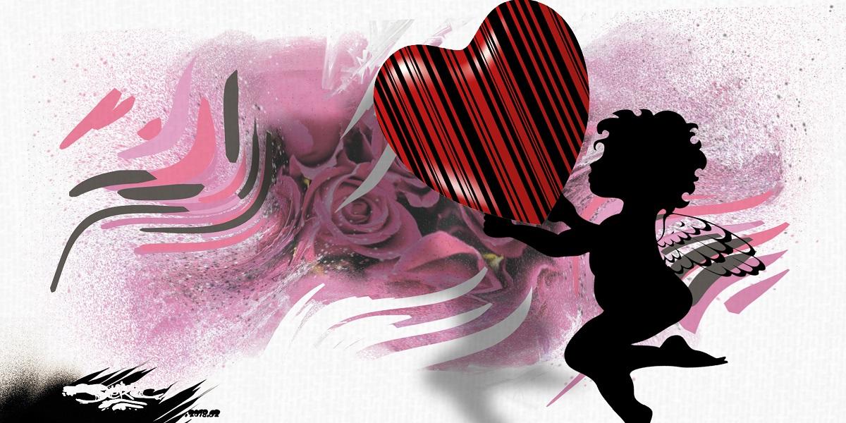 dessin humoristique d'une Saint-Valentin très mercantile