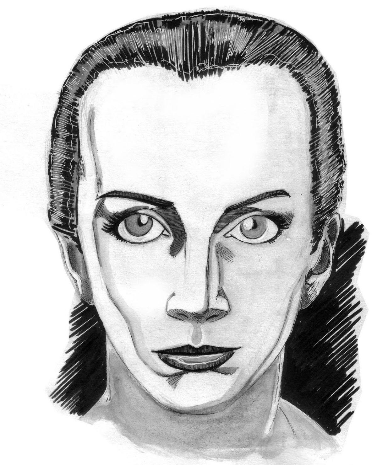 Portrait d'Annie Lennox par Zaïtchick