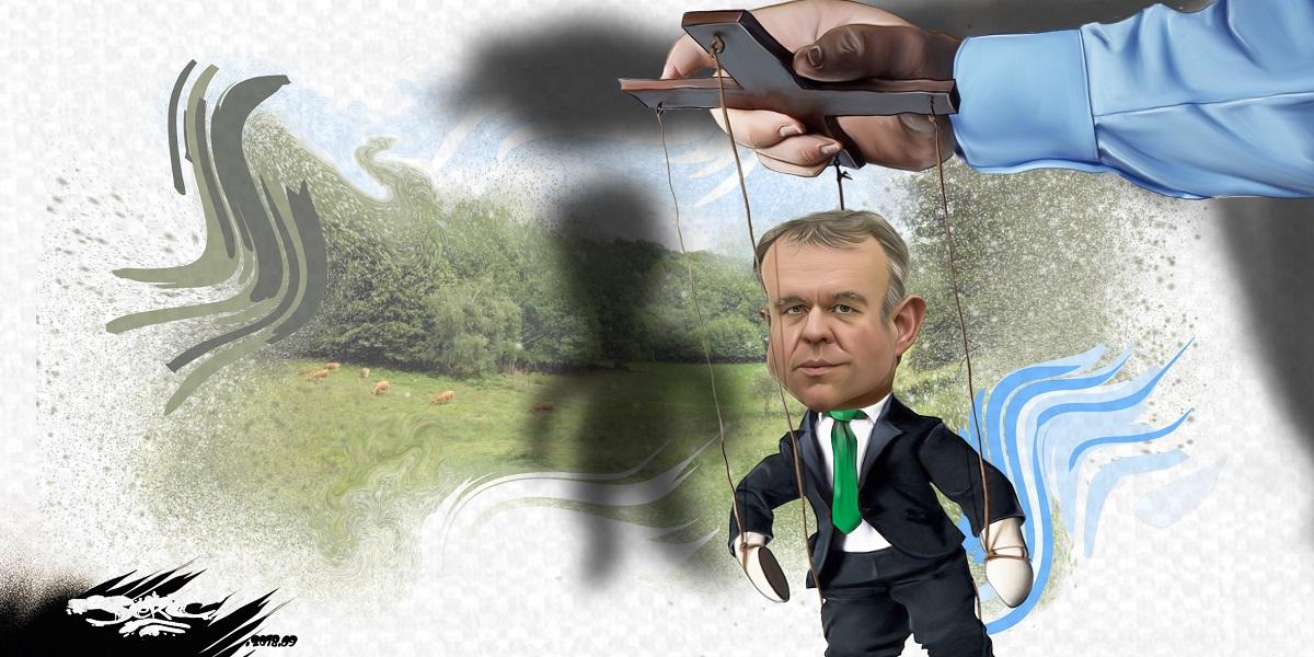 dessin d'actualité humoristique sur la nomination de François de Rugy