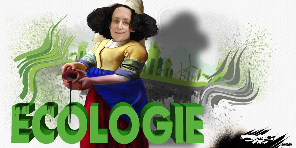 dessin d'actualité humoristique sur la nomination d'Emmanuel Wargon à l'écologie